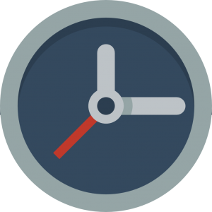 Clock icon signifying jurying is in progress