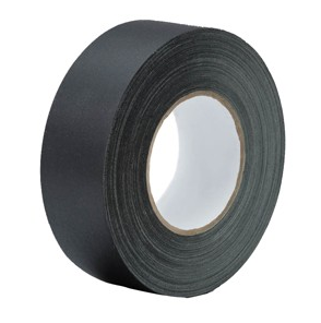 black electrical tape on white background