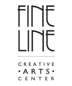 logo with black text that reads Fine Line Creative Arts Center