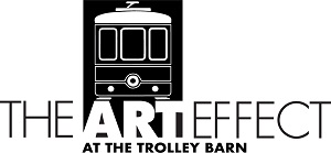 Logo for the Art Effect at the Trolley Barn
