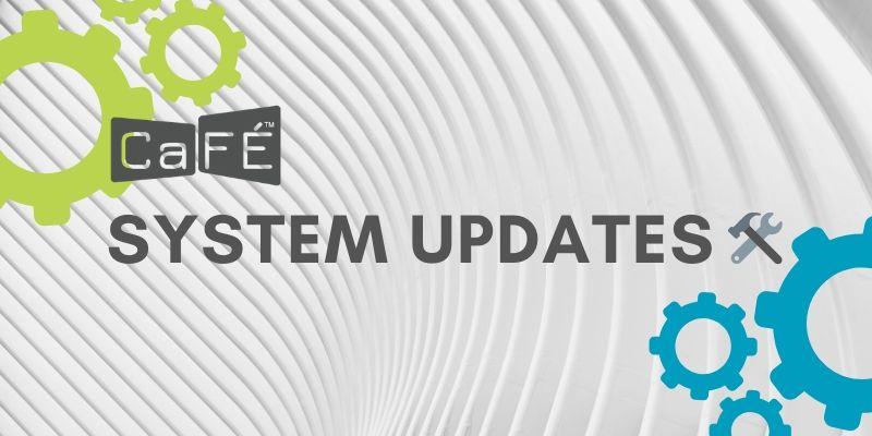 CaFÉ & WESTAF Privacy Policy Changes 2021